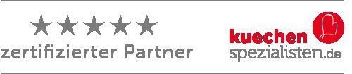 zertifizierter küchenspezialisten.de zertifizierter Partner Werbepartner Küchenspezialisten.de